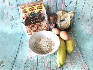 Handige hapjes - bananenmuffins - ingrediënten
