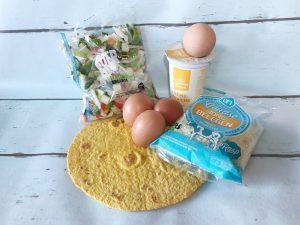 Handige hapjes tortillataartjes - ingredienten