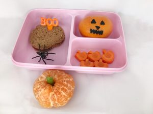 Halloween bento lunch - pompoen