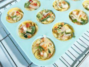 Handige hapjes tortillataartjes - stap 2