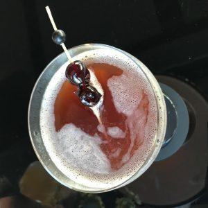 Dutching Cherries Cocktail Vane Skybar