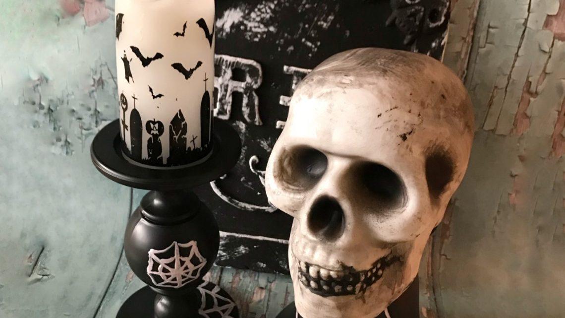 Griezelige Halloween DIY