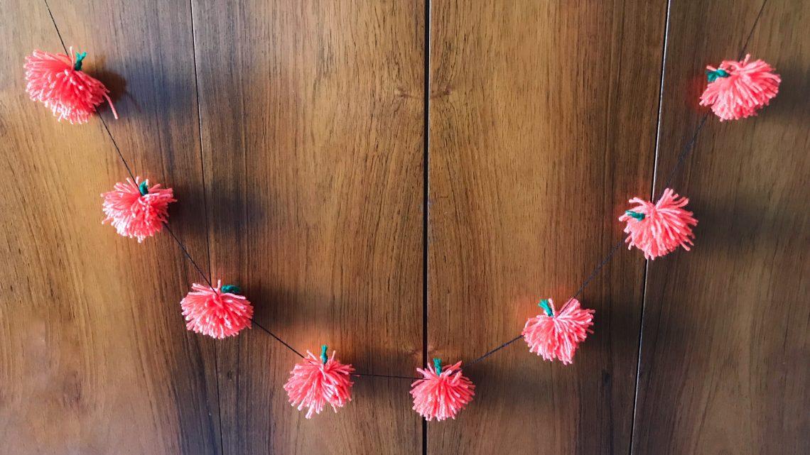 DIY: Herfstige pompoenslinger