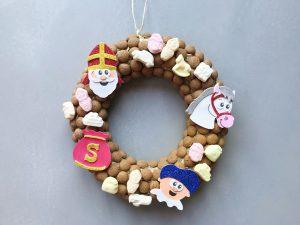 Sint DIY: Sinterklaas deurkrans