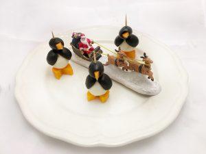 Kerstdiner op school - pretty pinguin