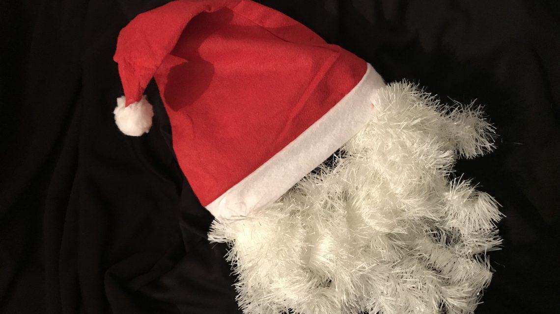 DIY: Een gemakkelijke kerstmannen kerstkrans