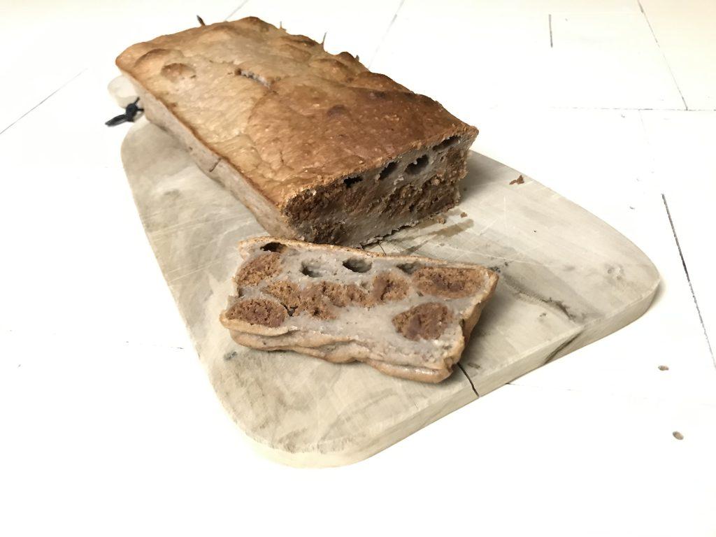 Handige hapjes Sintleftovers - bananenbrood kruidnoten
