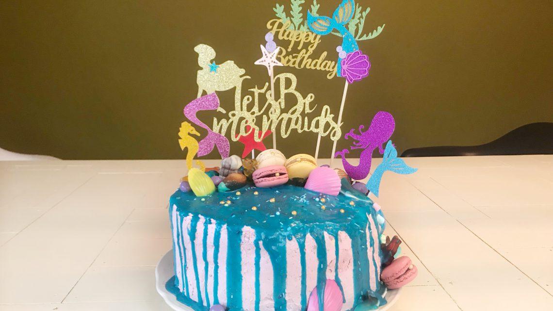 Maak van een verjaardagsfeest thuis een echt zeemeerminnen feestje!