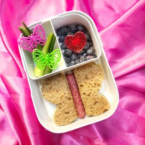 Lunchbox thema Valentijn - Vlinders in je buik