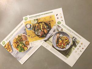 Hello Fresh receptenkaarten