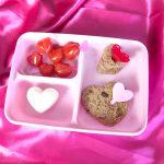 Lunchbox thema Valentijn - hartjeslunch