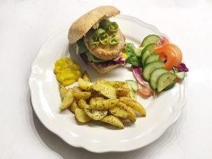 Hello Fresh Burger