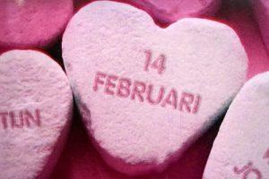 snoephart valentijnsdag