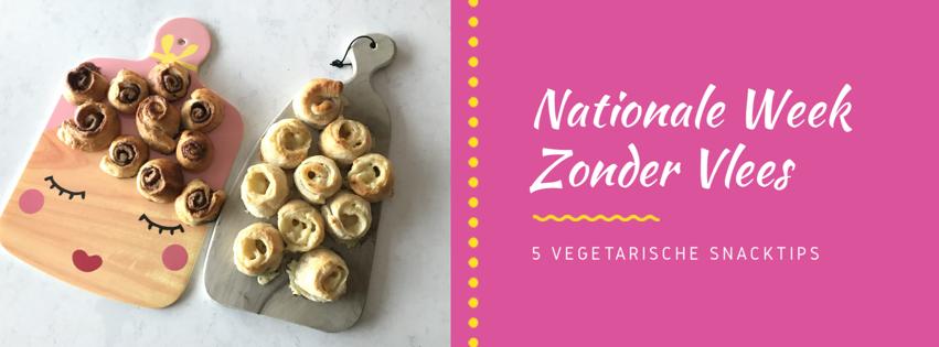 Nationale Week Zonder Vlees: vegetarische handige hapjes