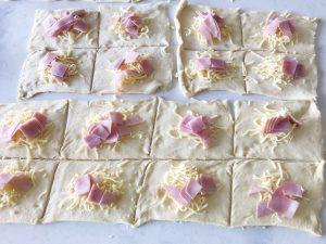 Gemakkelijk recept paasbrunch - croissantdeeg vullen