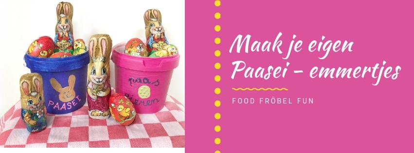 Knutselen voor Pasen: maak je eigen paasei-emmers