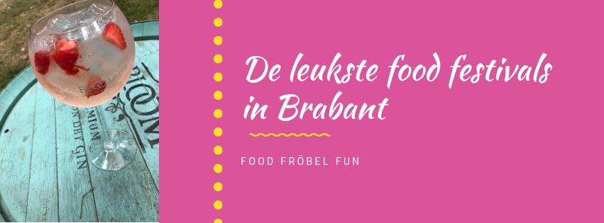 Food festivals in Brabant