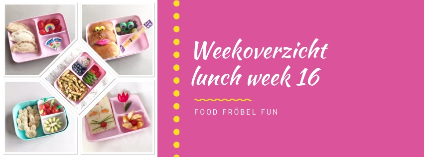 Weekoverzicht lunch week 16