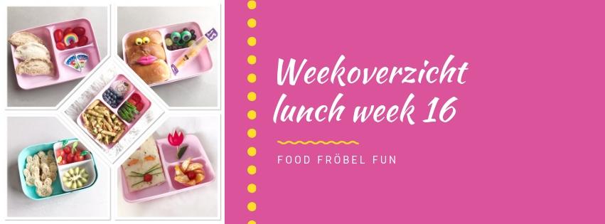 Weekoverzicht lunch week 16