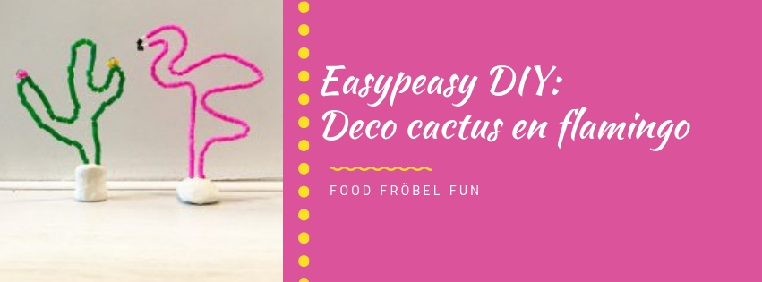 DIY: Deco cactus en flamingo