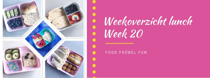 Weekoverzicht lunch week 20