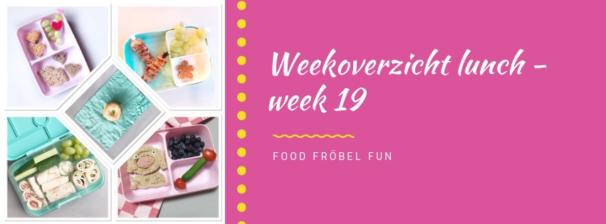 Weekoverzicht lunch week 19