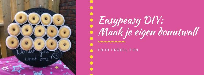 Donut wall: de hit op ieder feest! DIY