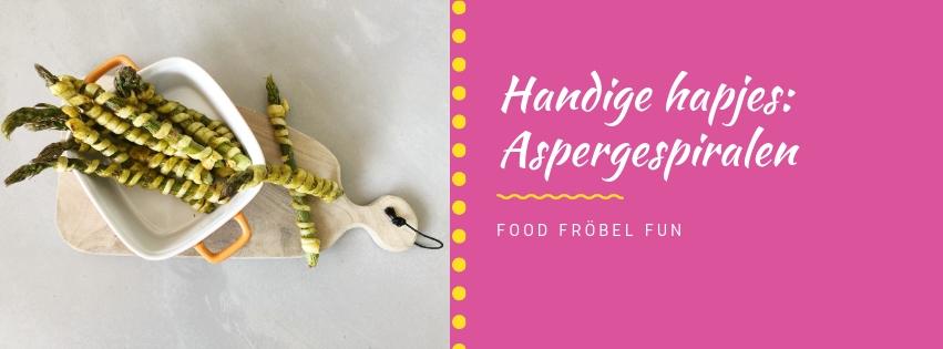Handige hapjes: Aspergespiralen