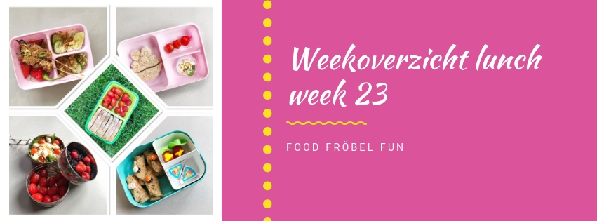 Weekoverzicht lunch week 23