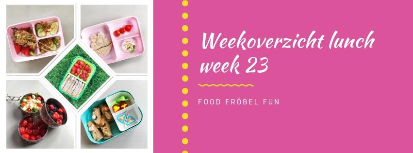 weekoverzicht bento lunch week 23