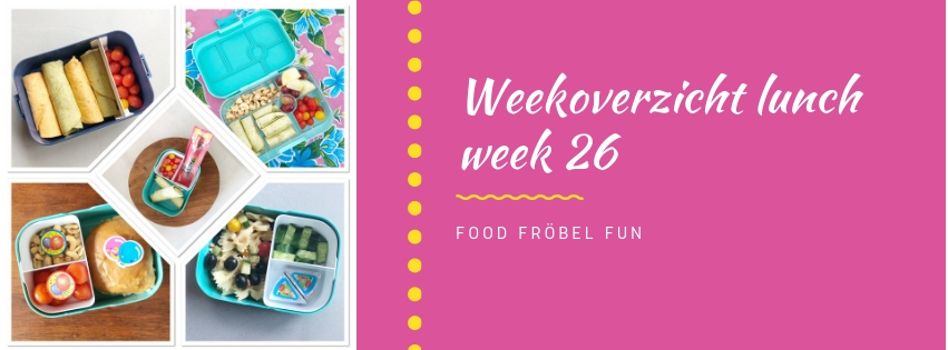 Weekoverzicht lunch week 26
