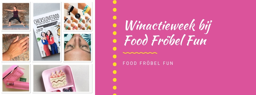 Overzicht winactieweek Food Fröbel Fun