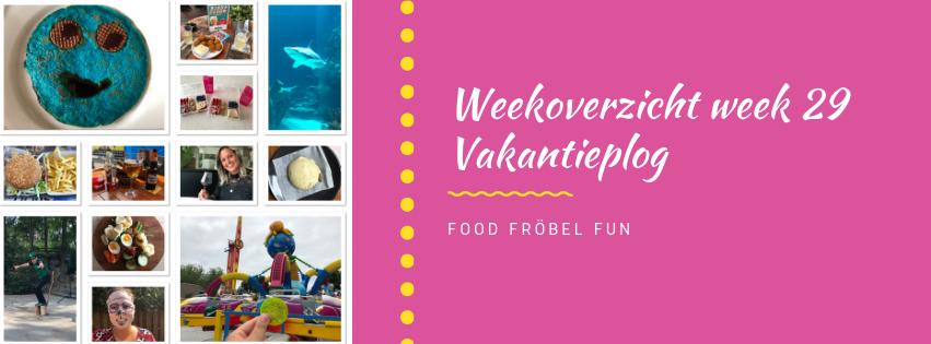 weekoverzicht week 29 - vakantieplog