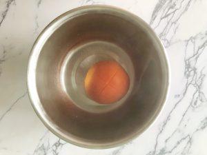 sambal maken - tomaat ontvellen