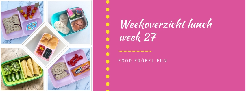 Weekoverzicht lunch week 27