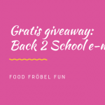 gratis giveaway e-magazine lunch vakantie back 2 school