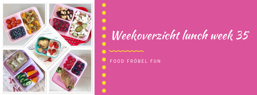 Weekoverzicht lunch week 35
