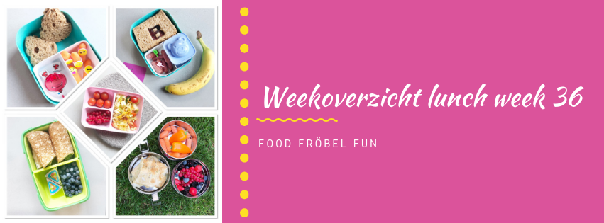 Weekoverzicht lunch week 36
