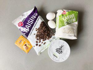 kwarkbollen gemakkelijk - ingrediënten