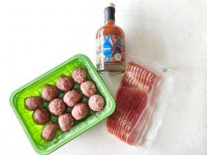 Moinkballs - ingrediënten barbecue
