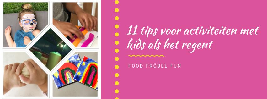 11 tips om leuke dingen te doen met kids als het regent