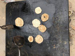 prehistorisch dorp koekjes bakken