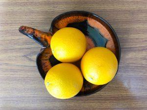 Herfstdecoratie maken gedroogde sinaasappels - nodig