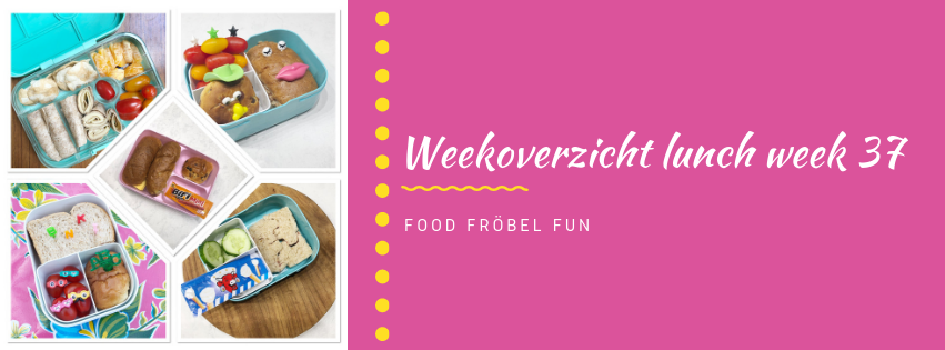Weekoverzicht lunch week 37