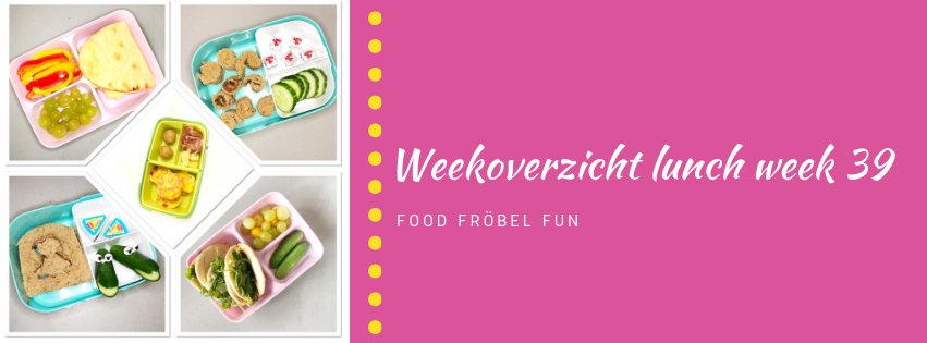 Weekoverzicht lunch week 39