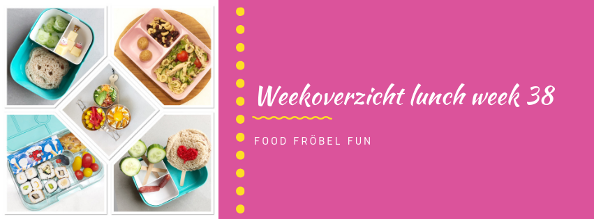 Weekoverzicht lunch week 38