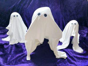 halloween knutsel spookjes zwevend