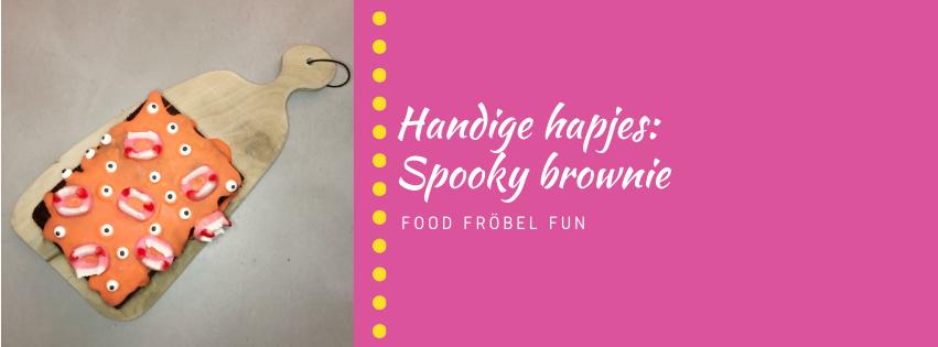 Handige hapjes: Spooky Halloween brownie