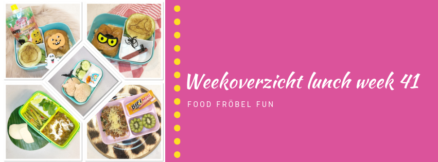 Weekoverzicht lunch week 41