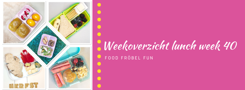 Weekoverzicht lunch week 40